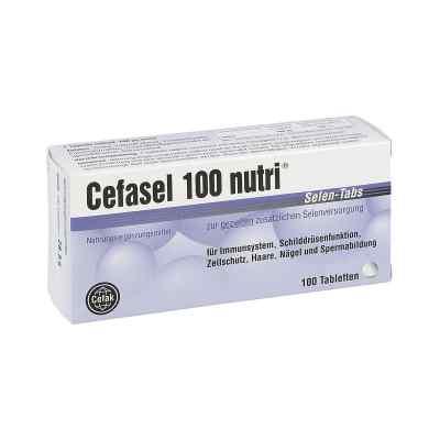 Cefasel 100 nutri Selen Tabs tabletki  zamów na apo-discounter.pl