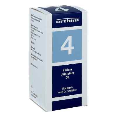 Biochemie Orthim 4 Kalium chloratum D 6 Tabl.