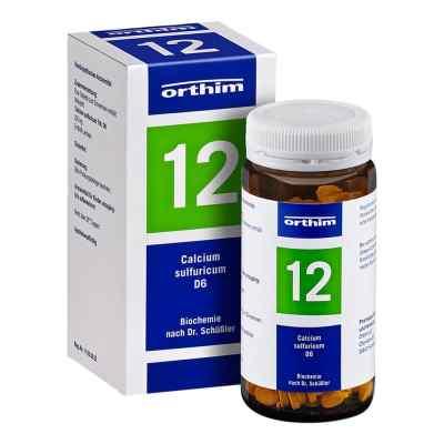 Biochemie Orthim 12 Calcium sulfuricum D 6 Tabl.  zamów na apo-discounter.pl