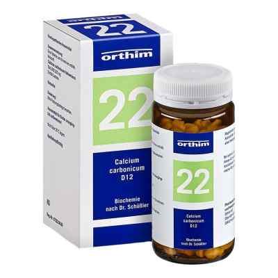Biochemie Orthim 22 Calcium carbonic.D 12 Tabl.