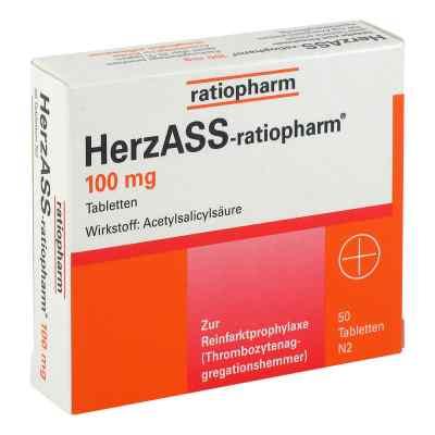 Herzass ratiopharm 100 mg Tabl.