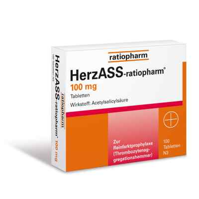 Herzass ratiopharm 100 mg Tabl.