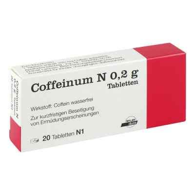 Coffeinum N 0,2 g Tabl.