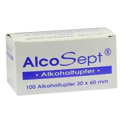 Alcosept waciki nasączone alkoholem  zamów na apo-discounter.pl