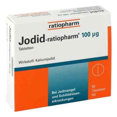 Jodid ratiopharm 100 [my]g tabletki  zamów na apo-discounter.pl