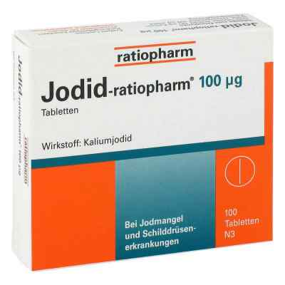 Jodid ratiopharm 100 [my]g Tabl.  zamów na apo-discounter.pl