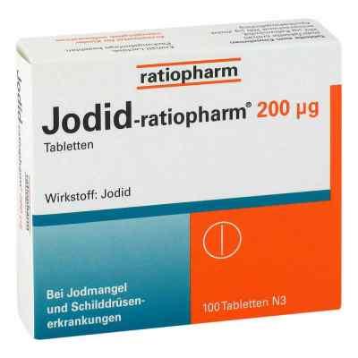 Jodid-ratiopharm tabletki 200µg   zamów na apo-discounter.pl