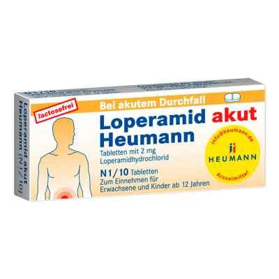 Loperamid akut Heumann Tabl.  zamów na apo-discounter.pl