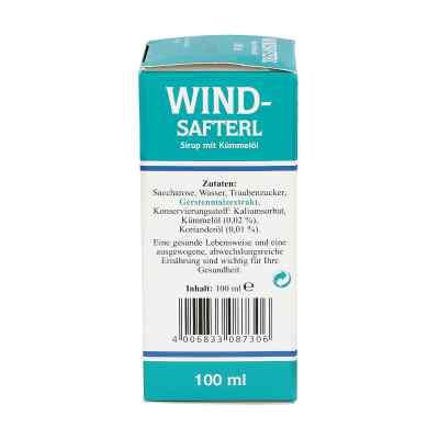 Windsafterl mit Kuemmeloel syrop z olejkiem kminkowym