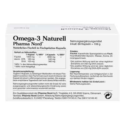 Omega 3 Naturell Pharma Nord Kapseln  zamów na apo-discounter.pl