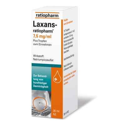 Laxans ratiopharm 7,5 mg/ml Pico Tropf.  zamów na apo-discounter.pl