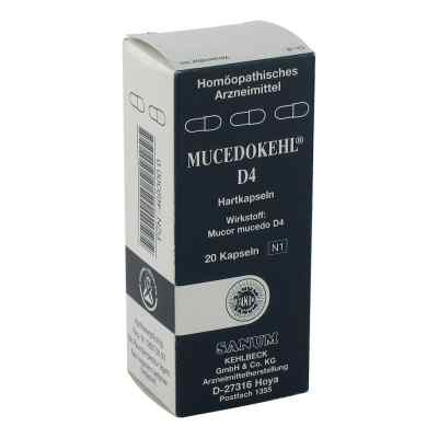 Mucedokehl D 4 Kapseln  zamów na apo-discounter.pl