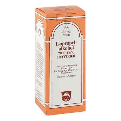 Isopropylalkohol 70% V/v 'hetterich' roztwór  zamów na apo-discounter.pl