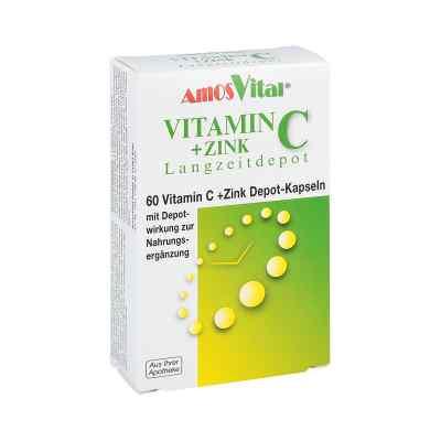 Vitamin C + Cynk Depot kapsułki  zamów na apo-discounter.pl