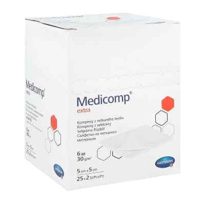 Medicomp Extra Kompr.5x5cm steril  zamów na apo-discounter.pl