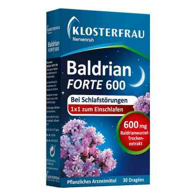 Klosterfrau waleriana forte 600 tabletki powlekane  zamów na apo-discounter.pl