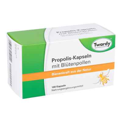 Propolis kapsułki z pyłkami kwiatów  zamów na apo-discounter.pl