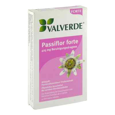Valverde Passiflor forte 425 mg Beruhig.dragees  zamów na apo-discounter.pl
