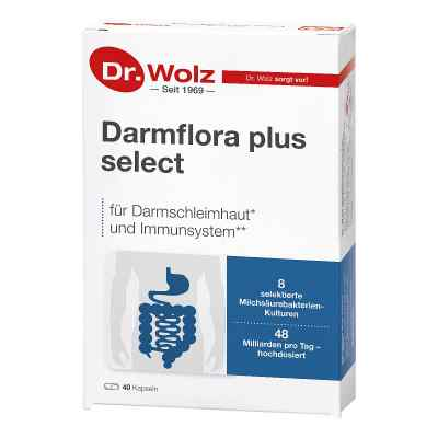 Dr Wolz Darmflora plus select probiotyk w kapsułkach  zamów na apo-discounter.pl