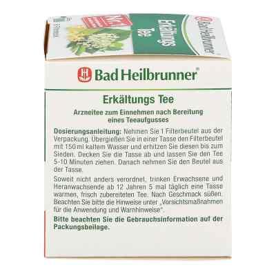 Bad Heilbrunner herbata na przeziębienia saszetki