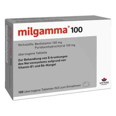 Milgamma 100 mg Tabl.ueberzogen