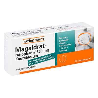 Magaldrat ratiopharm 800 mg Tabl.  zamów na apo-discounter.pl