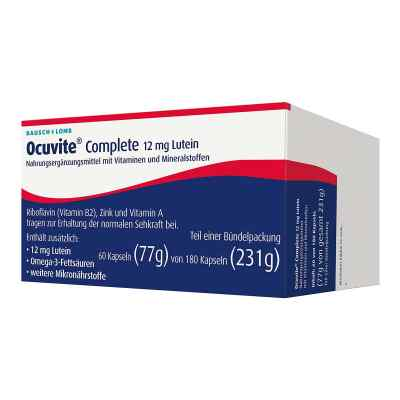 Ocuvite Complete 12 mg Lutein kapsułki  zamów na apo-discounter.pl