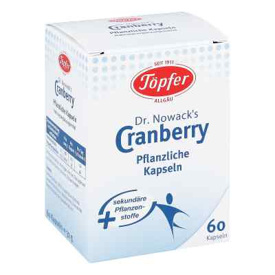 Toepfer Dr.nowacks Cranberry Kapseln