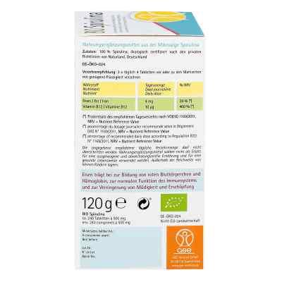 Spirulina 500 mg Bio Naturland tabletki  zamów na apo-discounter.pl