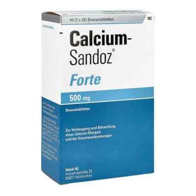 Calcium Sandoz forte tabletki musujące  zamów na apo-discounter.pl