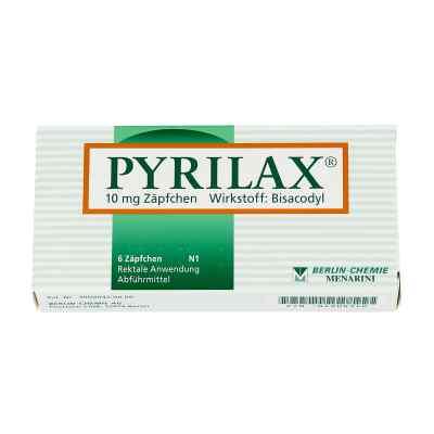 Pyrilax Suppos. 10 mg