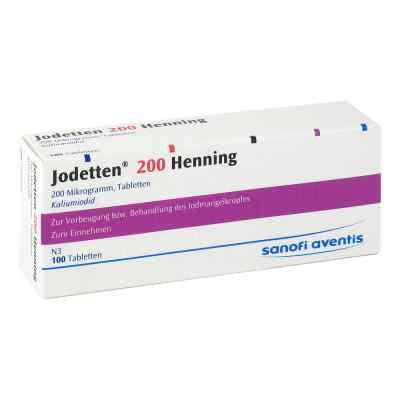 Jodetten 200 Henning Tabl.  zamów na apo-discounter.pl