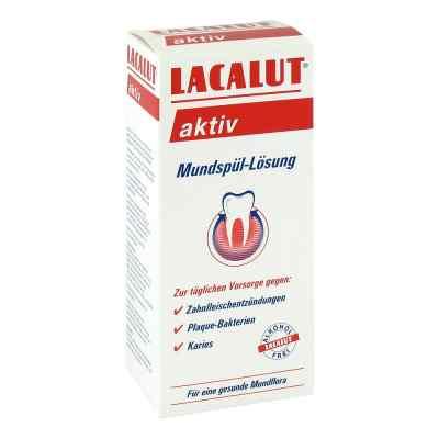 Lacalut aktiv płyn do płukania jamy ustnej  zamów na apo-discounter.pl