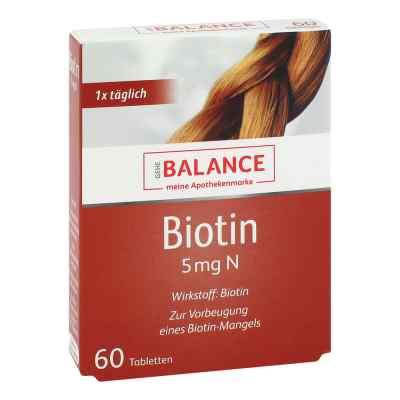 Gehe Balance Biotin 5 mg N tabletki  zamów na apo-discounter.pl