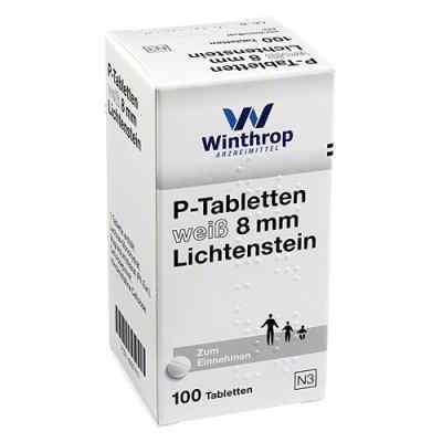 P Tabletten weiss 8 mm