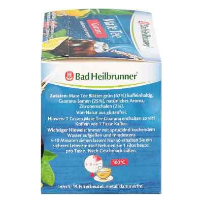 Bad Heilbrunner Tee Guarana Mate Kraeuterpower ziołowa herbata e  zamów na apo-discounter.pl