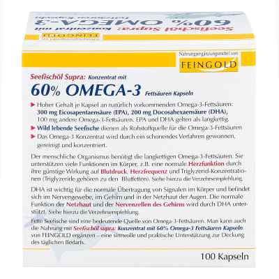 Seefischoel Supra m.60% Omega-3-fetts.weichkaps.  zamów na apo-discounter.pl