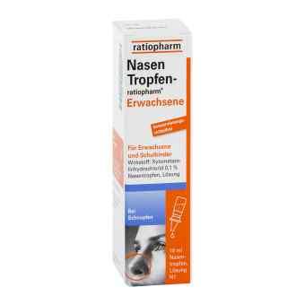 Nasentropfen ratiopharm Erwachs.konservier.frei