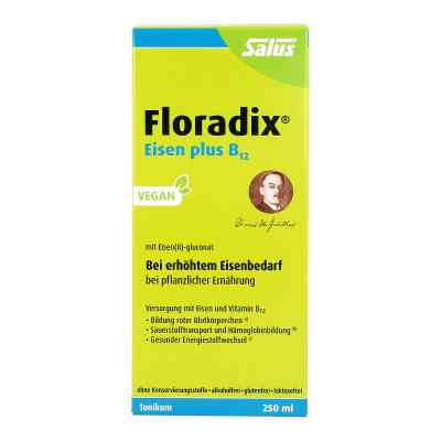 Floradix Żelazo plus B12 tonik ziołowy dla wegan