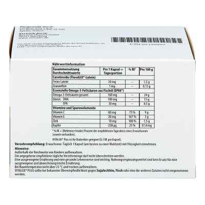 Vitalux Plus 10 mg z luteiną - 84 szt.  zamów na apo-discounter.pl