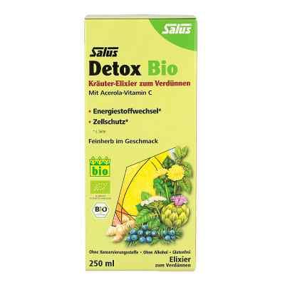 Detox Bio Kräuter-elixier zum Verdünnen Salus  zamów na apo-discounter.pl