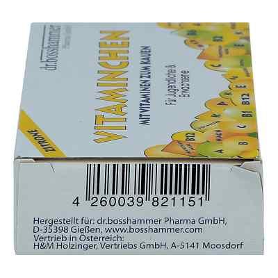 Vitaminchen Zitrone Kaubonbons  zamów na apo-discounter.pl