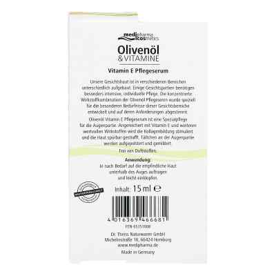 Olivenoel Vitamin E Pflegeserum  zamów na apo-discounter.pl