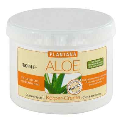 Plantana Aloe Vera Koerper Creme
