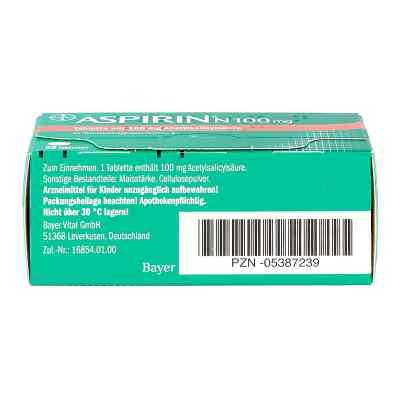 Aspirin N 100 mg Tabl.  zamów na apo-discounter.pl