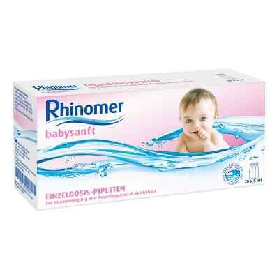 Rhinomer babysanft Meerwasser 5ml Edp Loesung  zamów na apo-discounter.pl