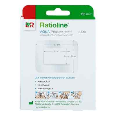 Ratioline aqua Duschpflaster plus 8x10cm steril  zamów na apo-discounter.pl