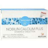Nobilin Calcium Plus Vitamin D tabletki  zamów na apo-discounter.pl