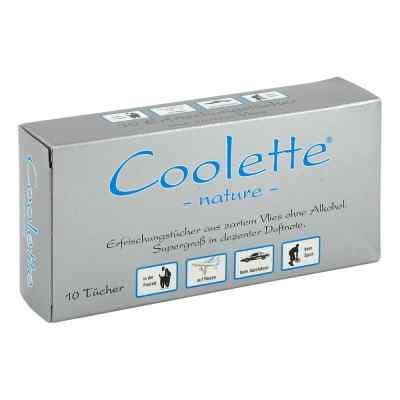 Coolette Nature Erfrischungstuecher Vlies  zamów na apo-discounter.pl