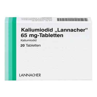 Kaliumiodid Lannacher 65 mg Tabl.  zamów na apo-discounter.pl